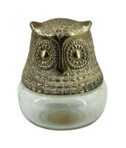Avon Raining Violets Owl Bottle