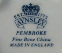 Aynsley China Mark ca. 2000-