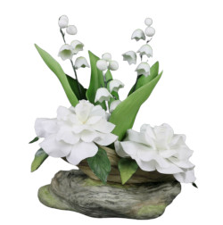 Boehm Gardenias With Lilies Of The Valley Figurine