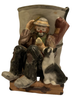 Flambro Emmett Kelly Coin Bank